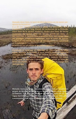 Teal and White Male Hiker Autobiography Book Cover(3)